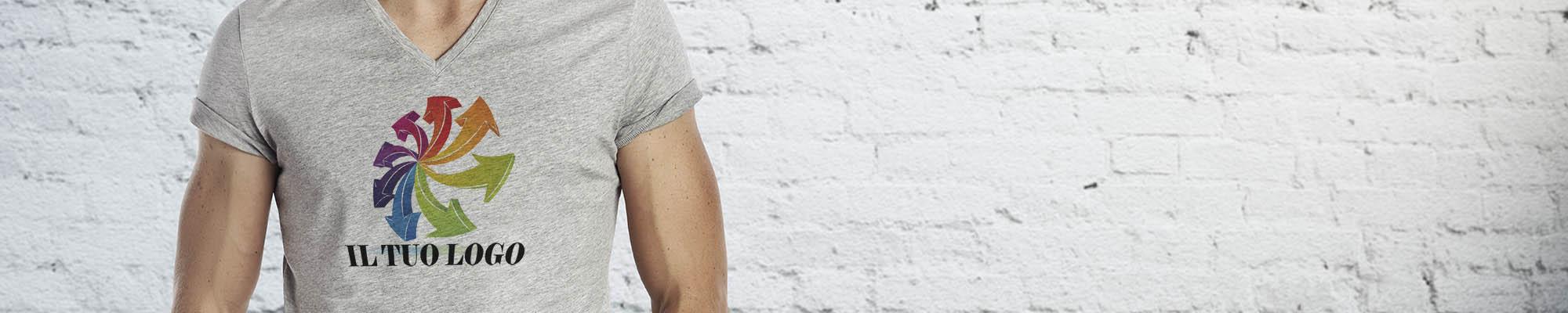 stampare t shirt personalizzate logo